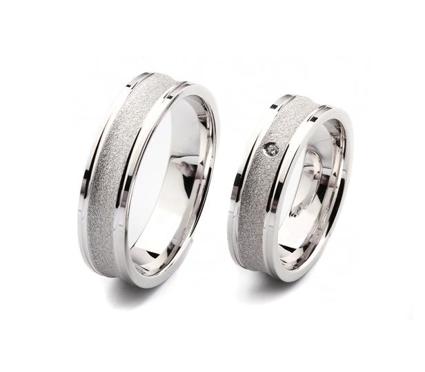 Alian�a Casamento e Noivado 18k