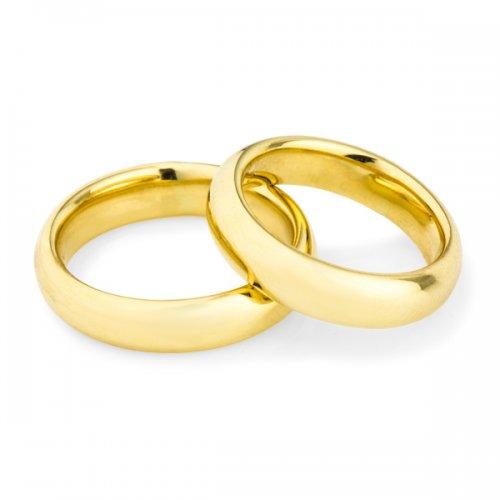 Alian�a Classic Ouro de Noivado e Casamento