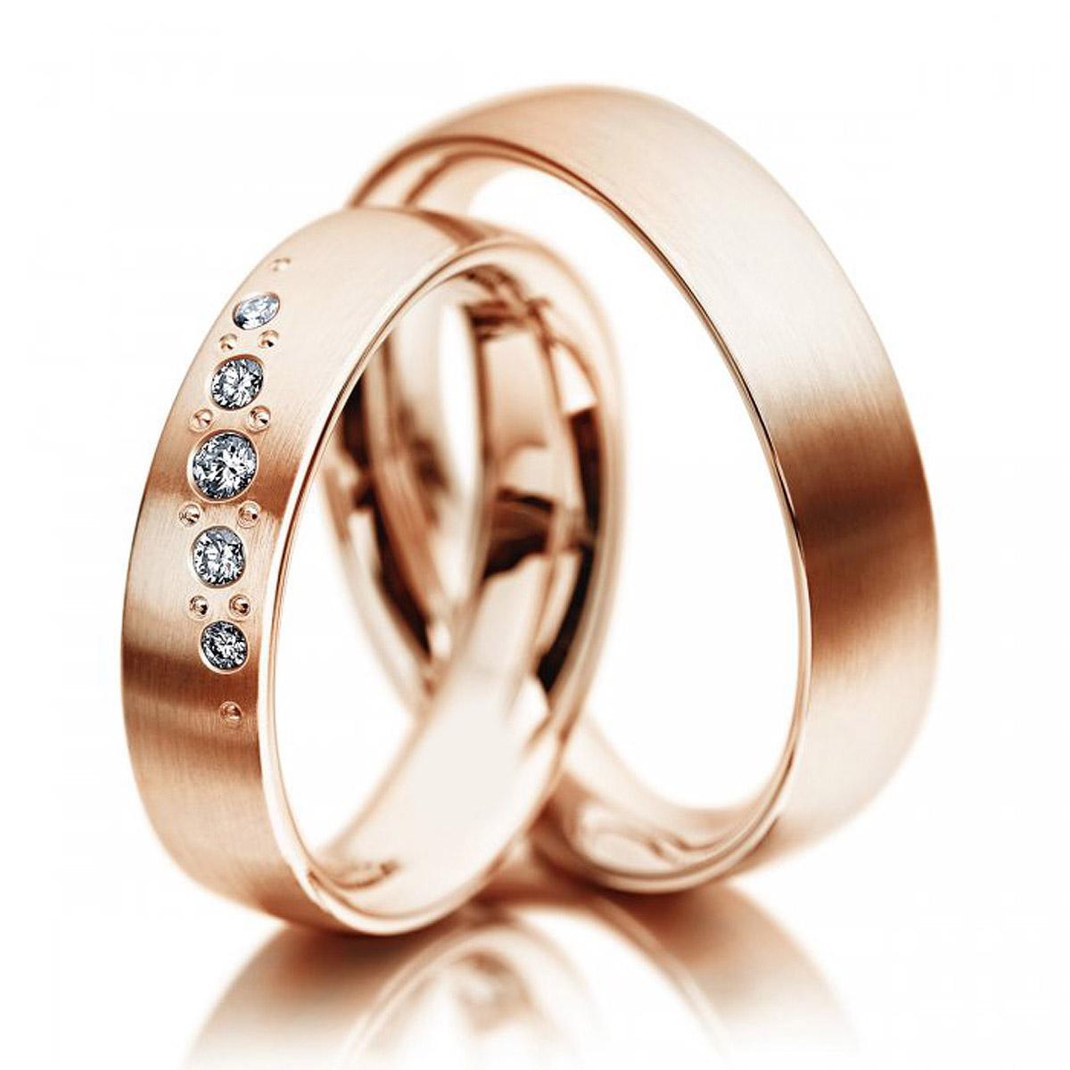 Aliança Cotê de Noivado e Casamento
