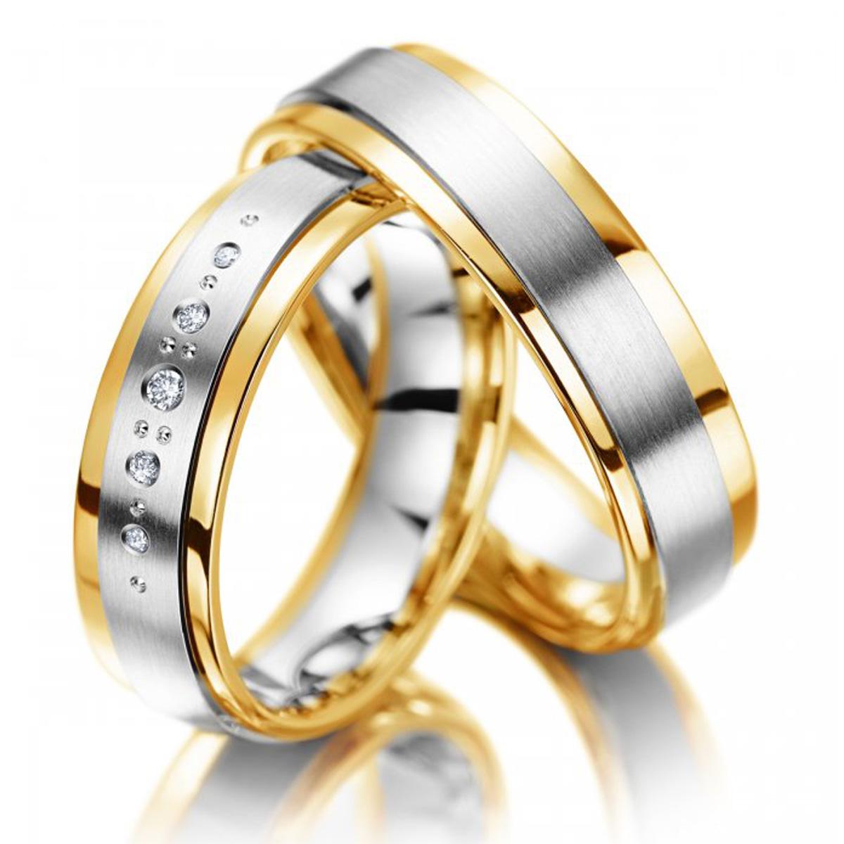 Aliança de Casamento com Gotas