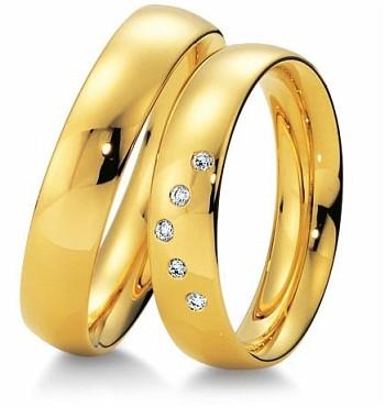 Aliança de Casamento e Noivado Lista com Pedras