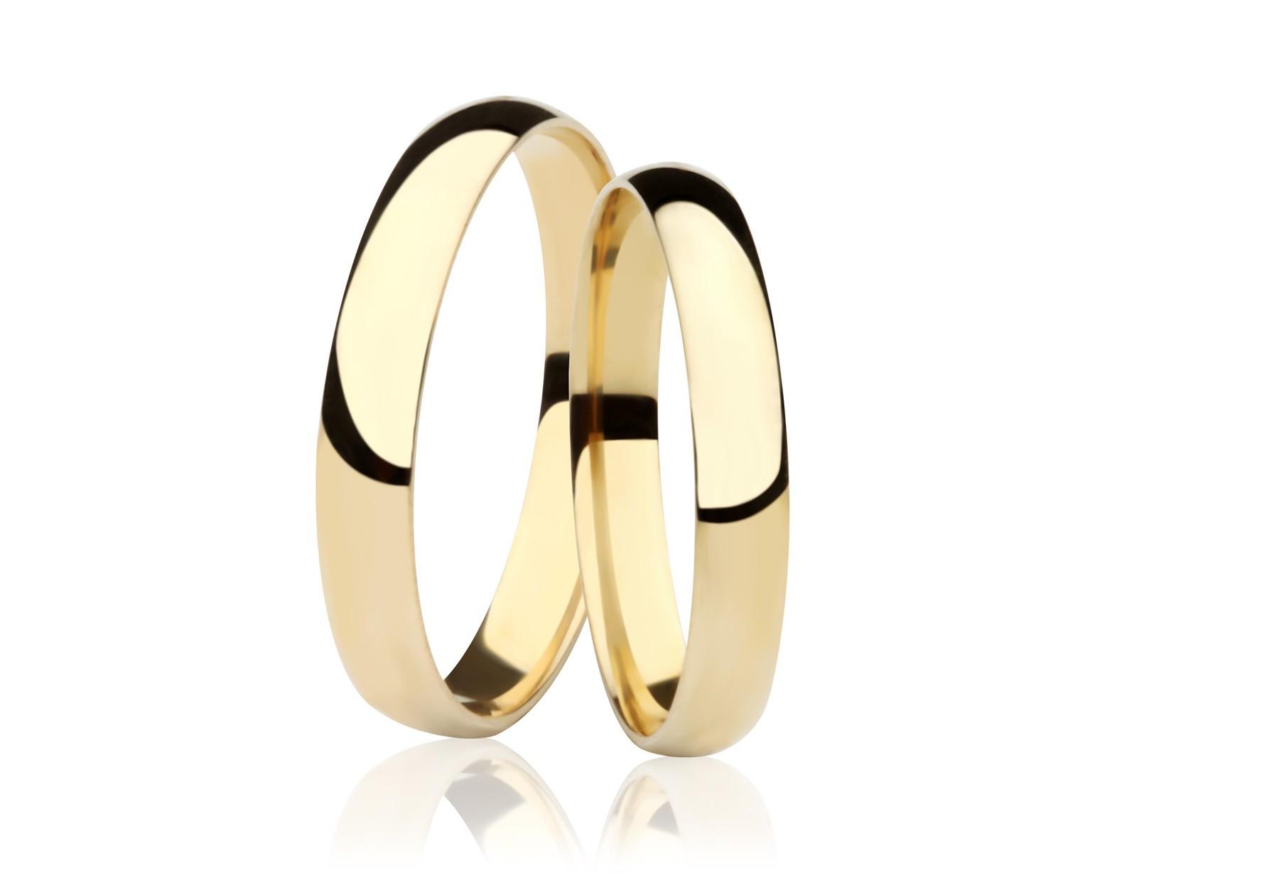Alian�a de Casamento ou Noivado Lisa Fina
