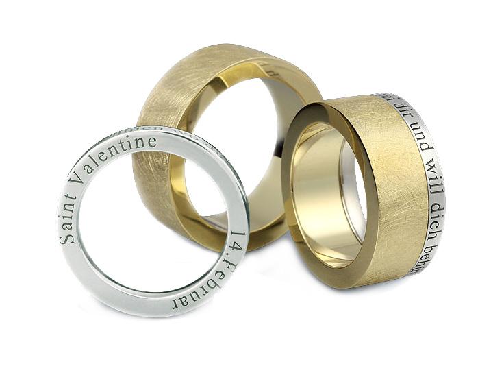 Alian�a de Casamento Valentine