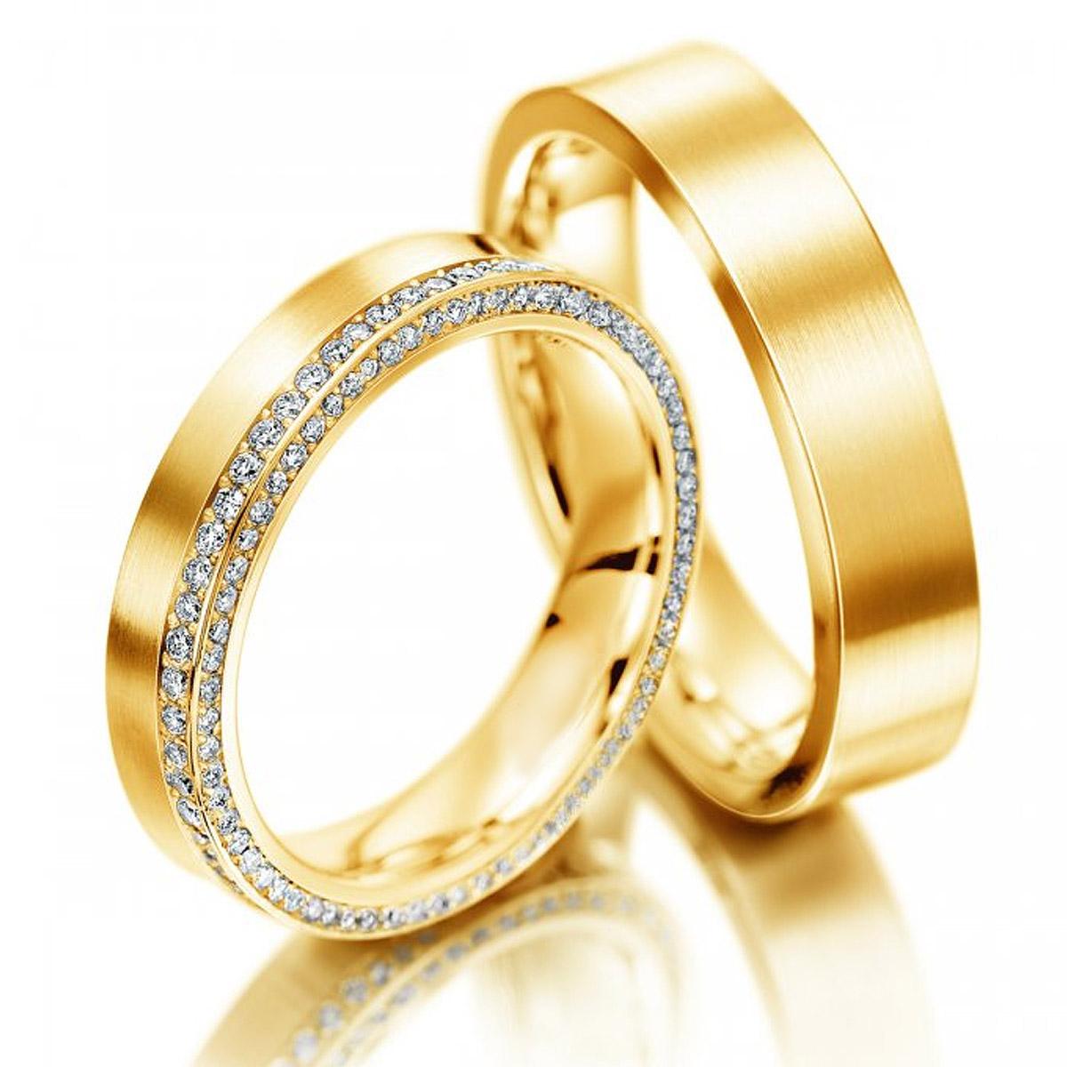 Aliança de Diamantes Ponta Grossa Noivado e Casamento