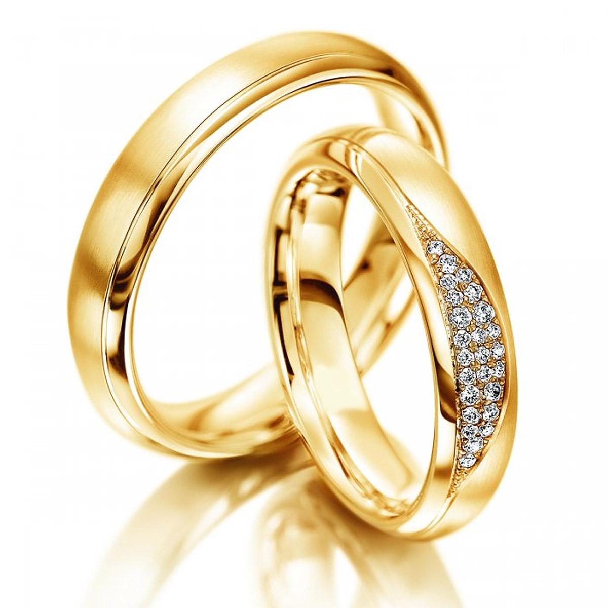 Aliança de Noivado e Casamento Especial