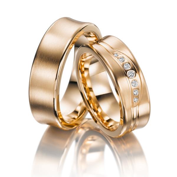 Aliança de Noivado e Casamento Perfect em Ouro 18k