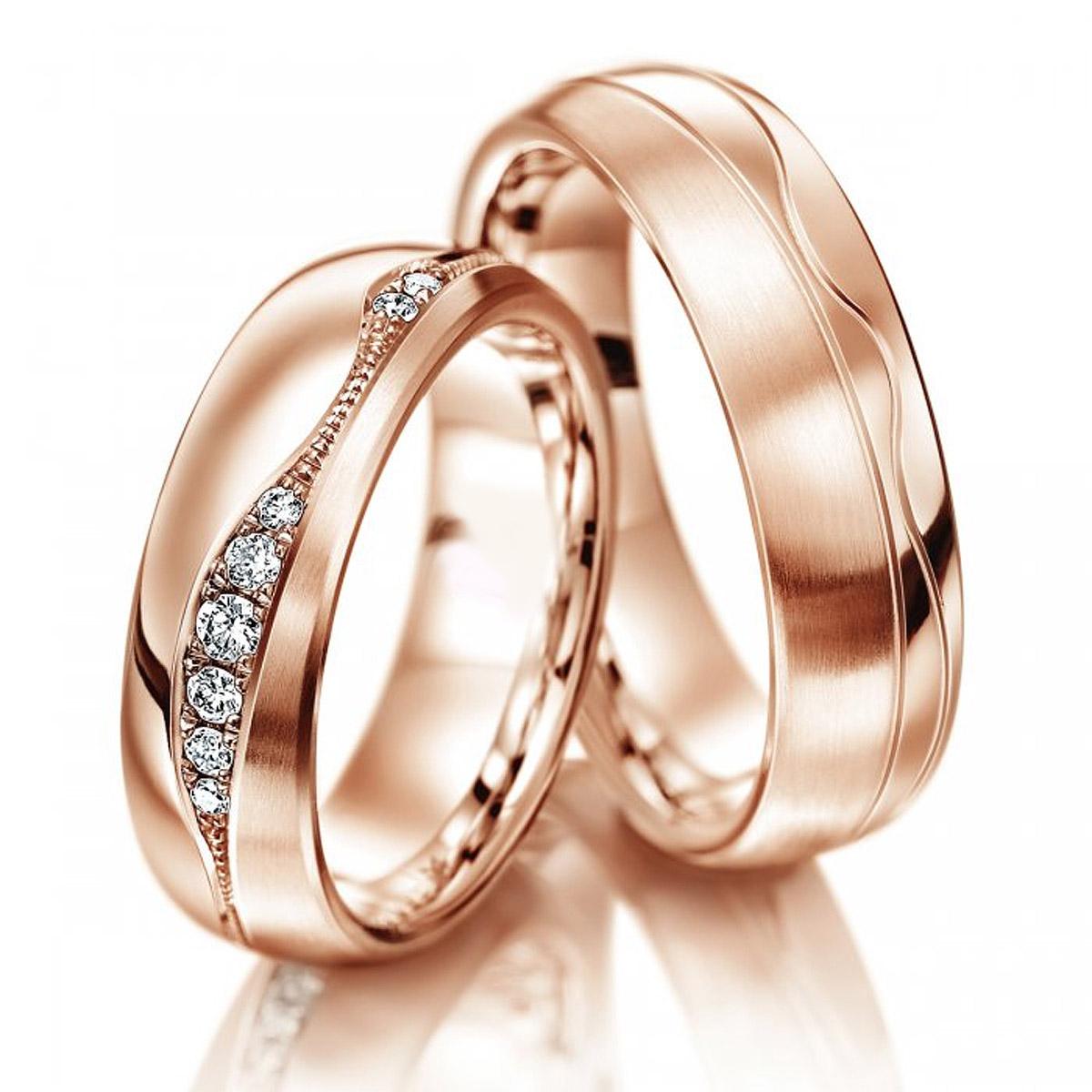 Aliança de Noivado e Casamento SUPER em Ouro 18k