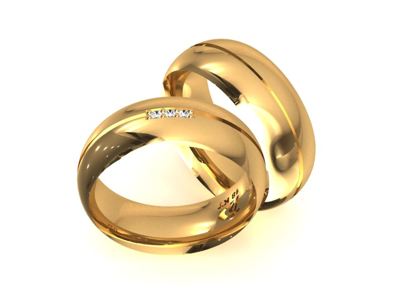 Alian�a de Noivado e Casamento Tree Brins