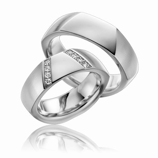 Aliança de Noivado ou Casamento Elegance