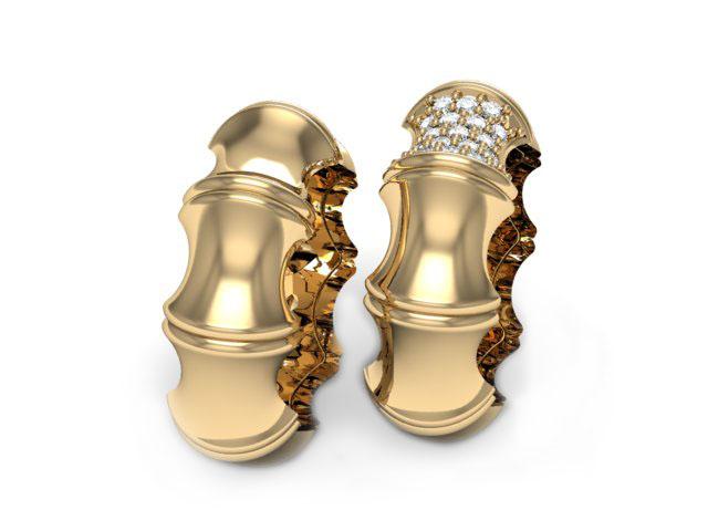 Aliança em ouro Quade Noivado ou Casamento
