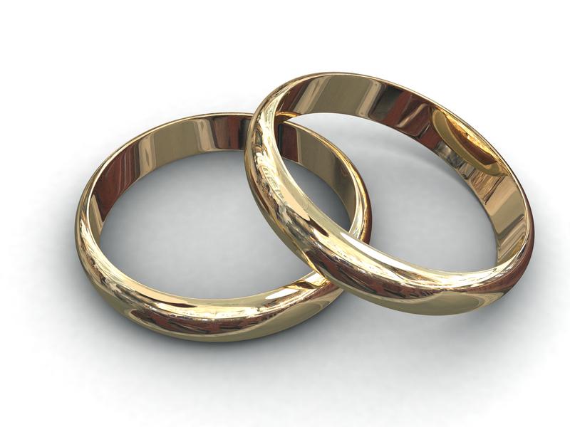 Alian�a em Ouro Tradicional Fina de Noivado e Casamento