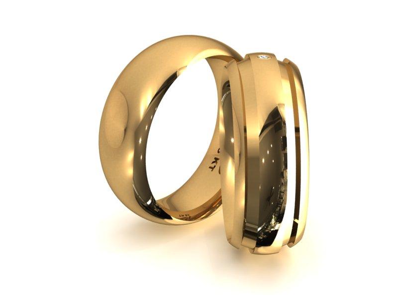 Alian�a em Ouro um Ponto de Noivado e Casamento