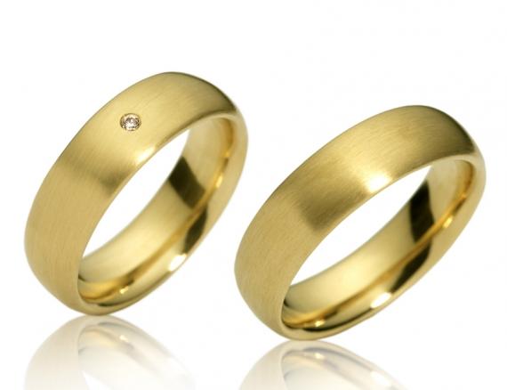 Aliança Farol em Ouro para Noivado ou Casamento