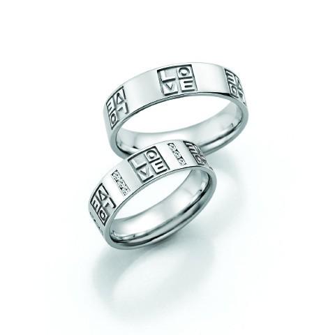 Aliança Letras de Casamento e Noivado
