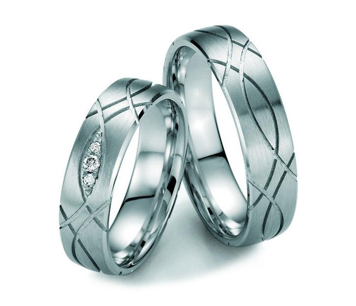 Aliança Mask Risk de Noivado e Casamento