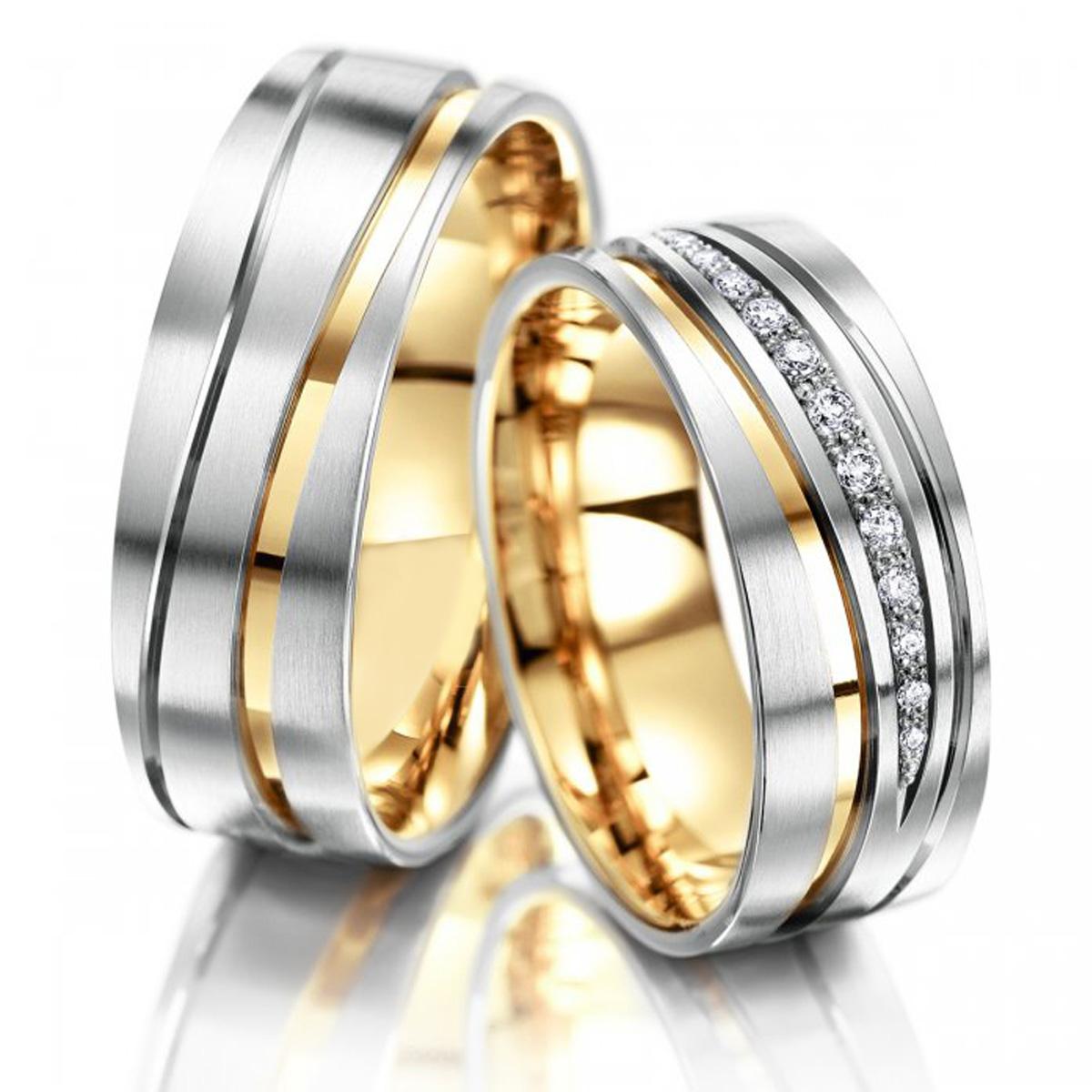 Aliança Monaco de Noivado e Casamento