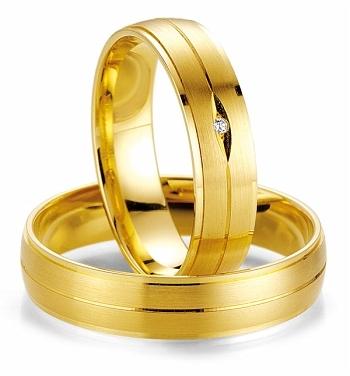 Aliança Olha em Ouro para Casamento ou Noivada