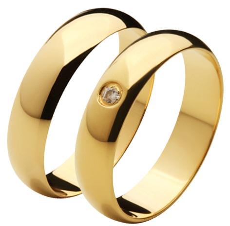 Aliança Rio em Ouro 18 de Noivado e Casamento