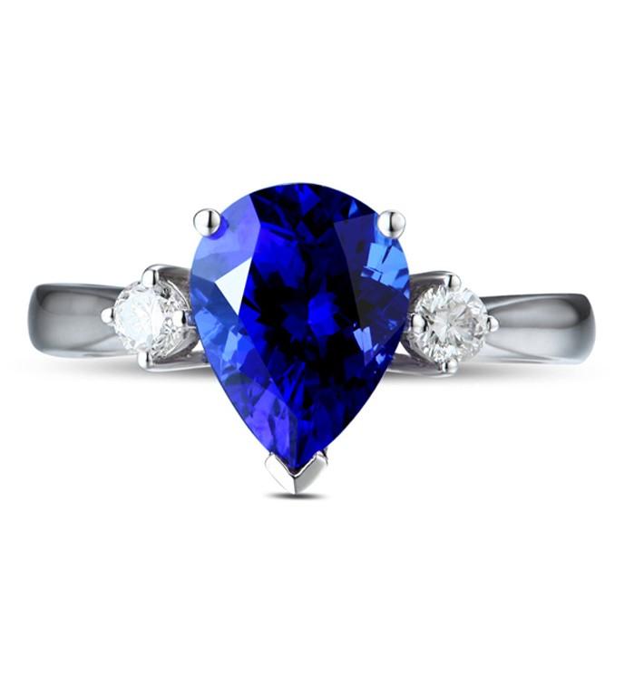 Anel Blue Belle Safira