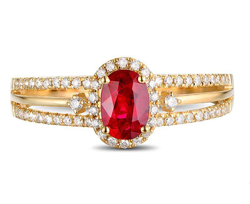 Anel de Formatura de Direito com Diamantes