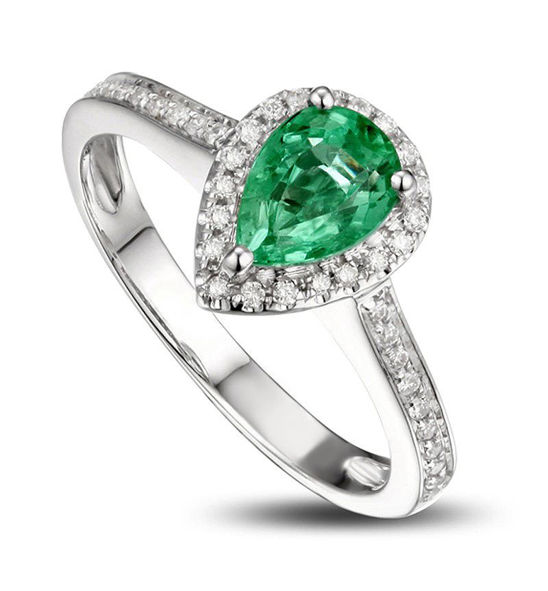 Anel Gota com Diamantes