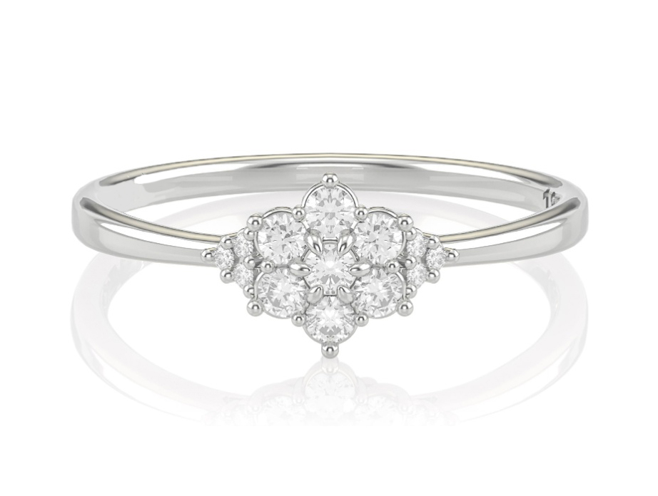 Anel Gotas de Diamantes Formatura Noivado Casamento e 15 anos