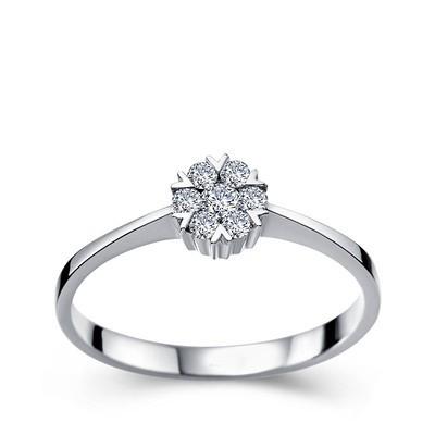 Anel GranLove Solit�rio Noivado ou Casamento