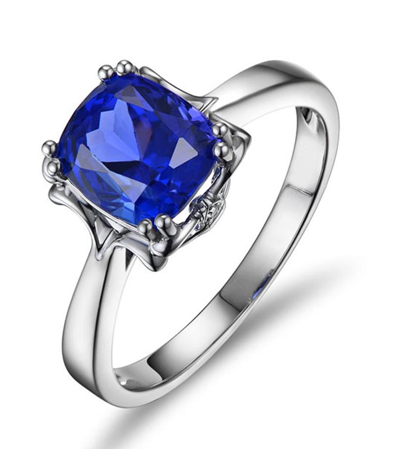 Anel LaQuad Safira Azul