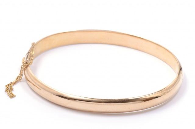 Bracelete Abaulado com Fecho Pega Ladr�o