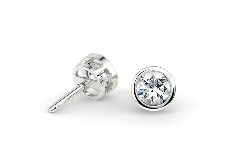 Brinco de Diamantes Ponto Luz