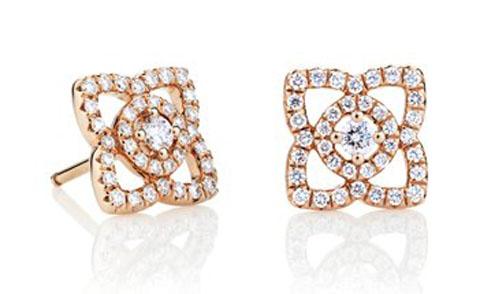 Brinco Eye Estrela com Diamantes
