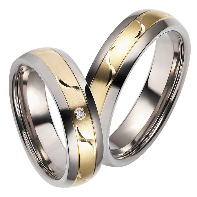 Par de Aliança de Casamento e Noivado