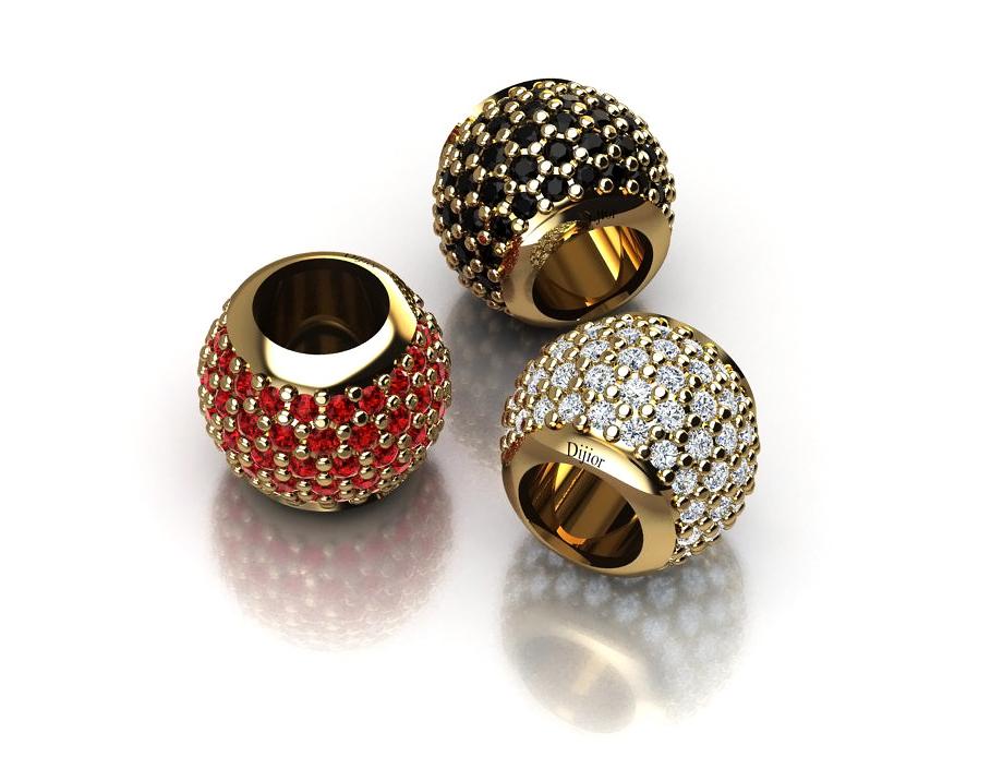 Pingente Pandora com Diamantes