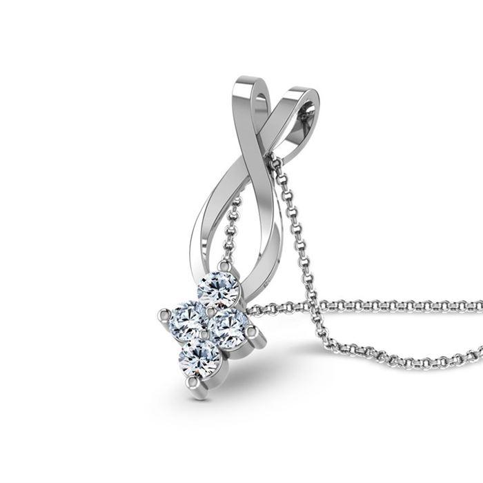 Pingente Stone com Diamantes